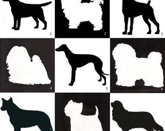 "Design Your Own Custom Appliquéd Dog Pillow, Made to Order, 12"" x 16"" Lumbar"