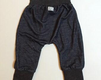 Grow with Me Babywearing Pants - Harem style - dark jeggings