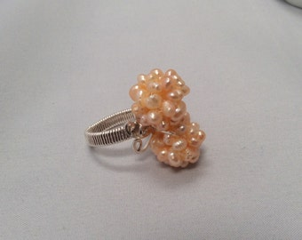 Hand Wrapped Wire Ring