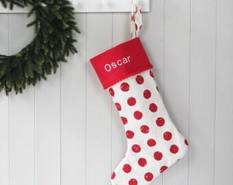Christmas Stocking - Holiday Stocking - Personalised Christmas Stockings  - Christmas Socks - Christmas Stocking for Dog - Custom Stockings