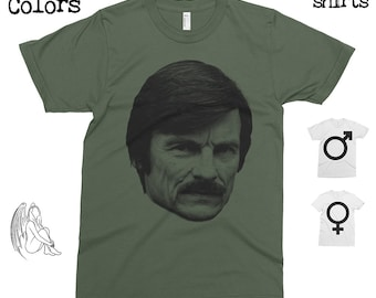 Tarkovsky T-shirt, Tee, American Apparel, Director, Film, Stalker, Solaris, The Mirror, Nostalgia, Cute Gift