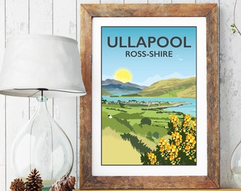 Ullapool, Ross Shire, Scottish Highlands Print