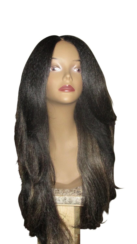 Essence Wigs Rachel Kinky Straight Italian Yaki Lacefront