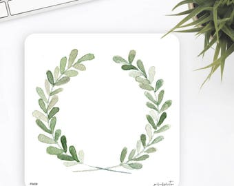 FW09 | Flower Wreath Sticker | Watercolor Sticker | Decorative Sticker | Planner Stickers | Bullet Journal Stickers