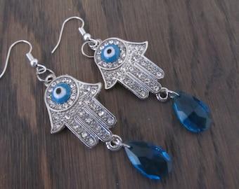 Earrings Hamsa
