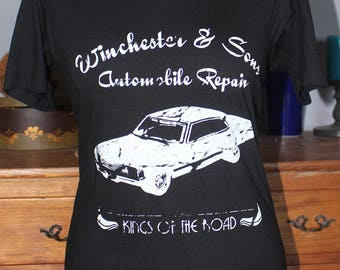 Supernatural inspired Winchester and Sons T-Shirt