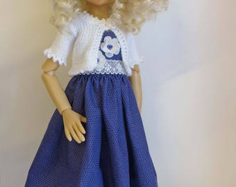 OOAK outfit for Kaye Wiggs or other MSD dolls