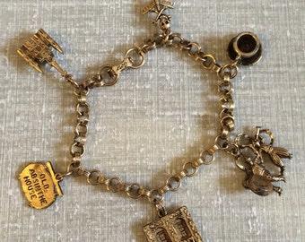 Vintage Coro Charm Bracelet