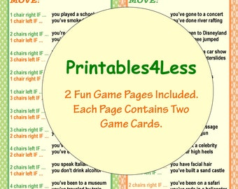 Ice Breaker Game, DIY Printable Party Game, DIY Fun Printable Game, DIY Party Game Ideas, All Ages Game - By Printables 4 Less