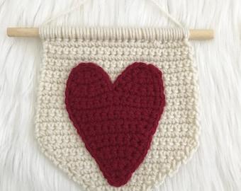 Mini Wall Hanging - Heart