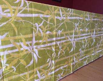 "Incredible vintage screen print fabric. Cohama ""Waikiki"""