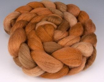 Polwarth Silk Top,Handpainted, 4 oz., Vixen