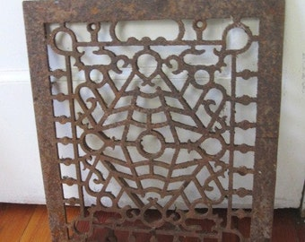 Reserved for Lisa - Old Salvaged Floor or Wall Grate