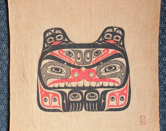 Bear family - Wall Hanging - First nations art