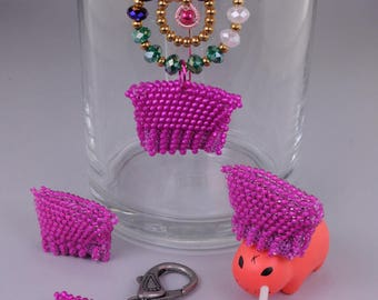 Tutorial: Bead Crochet Mini Pink Pussy Hat
