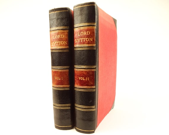 1883 The Life,Letters & Literary Remains of Edward Bulwer,Lord Lytton by His Son (Owen Meredith)
