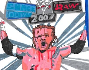 WWE Smack Down VS Raw 2007 Art Print