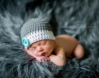 baby hat,  baby boy hat,  boys hat, baby boy hat, crochet gray boys hat, boys hat,  baby boy hat, baby hats,baby hat, crochet baby hat