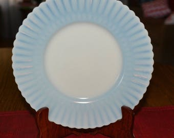 MacBeth Evans Petalware Monax Salad Plates - Six (6) , C. 1930-1950