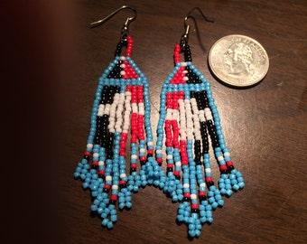 Native American Beaded Earrings