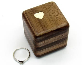 Wooden ring box Engagement ring box Wedding ring box Jewelry box Unique ring box Storage box Personalized Rustic wooden ring holder Jewelry