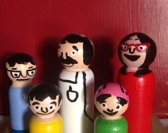 Bob's Burgers Peg Dolls