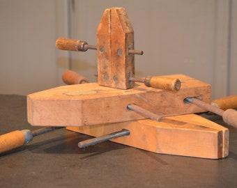 Vintage Wood Clamps