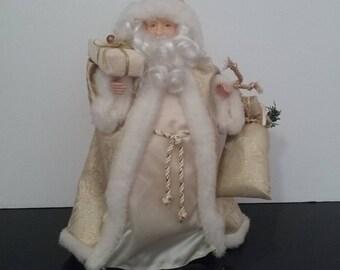 12.5' Santa Claus Tree Topper, Christmas Decoration