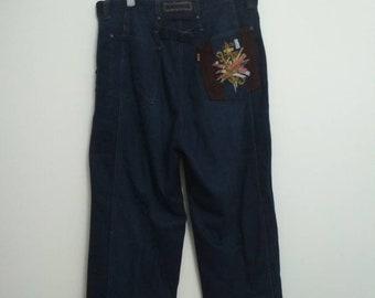 Vintage Lancel Paris Jeans Waist 34