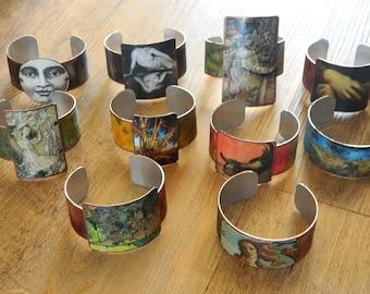 Art bracelets Destash Wholesale Repurpose Lot of 10 bracelets