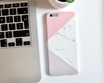 Instant dispatch hard shell iPhone 6plus 6splus phone case cover modern abstract holographic etc.