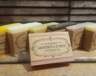 Soap Sampler Set, All Natural soap, Handmade VEGAN soap, Cold Process soap, essential oil soap, guest soap, mini soap, travel soap