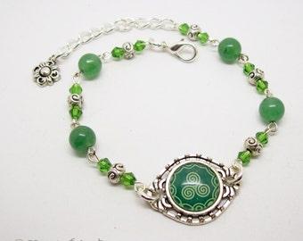 Celtic Triskele Bracelet - Celtic Jewelry - Triskele Jewelry - Celtic Jewellery - Triskele Bracelet - Triskele Jewellery - Irish Jewelry