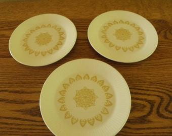 Sheffield China Serenade Dessert Plates (Set of 3)