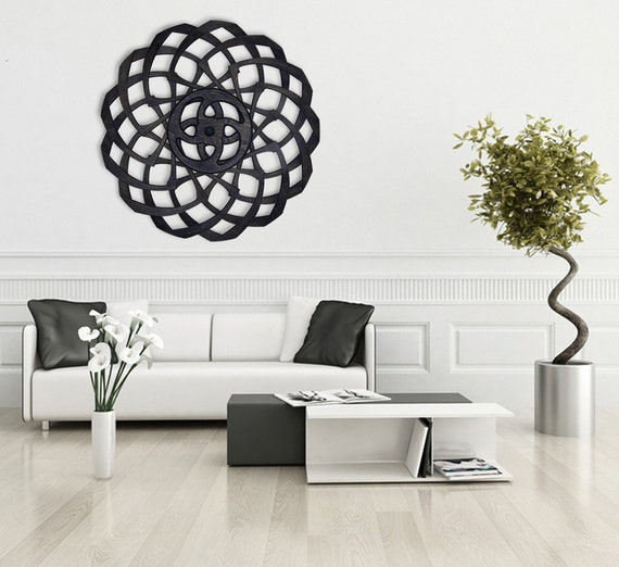 Large Wall Art Optical Illusion Large Wall Art that Seems to