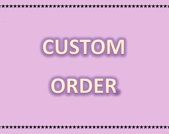 Custom needle felted mice for amethyst1351 - deposit