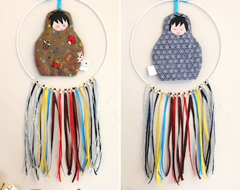 Dream catcher double day and night. Boy