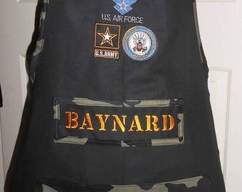 Military Themed Apron