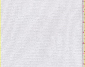 White Gauze Knit, Fabric By The Yard