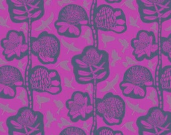 Sweet Dreams by Anna Maria Horner for Free Spirit - Remains - Jacaranda - 1/2 yard Cotton Quilt Fabric