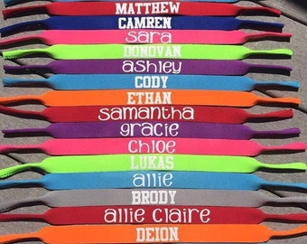 Sunglass Strap, Sunglass Holder, Personalized Sunglass Strap, Adult Sunglass Strap, Kids Sunglass Strap