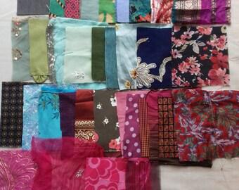 textile embellishment kit. fibers, textiles, craft kit.