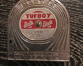 Vintage Tufboy Measuring Tape. Measuring Tape. Vintage Tufboy.