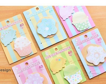 Ice Cream/Donut Sticky Notes