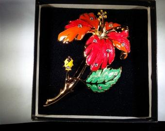 Jose Maria Barrera Fashion Flower Pin