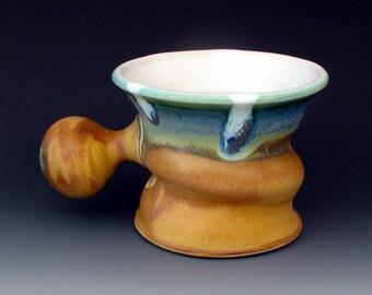 SHAVING MUG #10 - Shaving Bowl - Shaving Cup - Shaving Dish - Lather Mug - Mugs For Shaving - Shaving Accessories - Shaving Soap - For Men