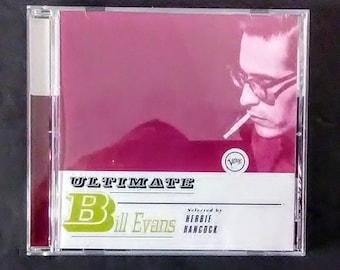 BILL EVANS Ultimate Bill Evans (CD, Verve 6171666, 1998) Jazz, Contemporary Jazz