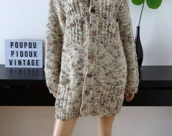 Handmade long vest size M/L