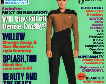 STARLOG Star Trek Denise Crosby Magazine #130 May 1988 Issue