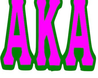 alpha kappa alpha svg bundle cricut svg cricut download kappa aka rh etsystudio com aka clip art and images aka clipart